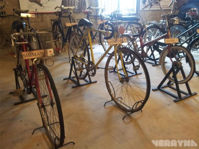 Ada sepeda onthel buatan Jepang juga lhoooo..